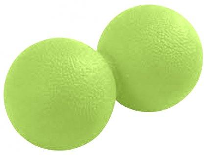 Masážní míček TWIN LIFEFIT 12,5x6,2cm