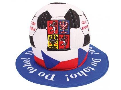 Klobouk fotbalový míč ČR 1