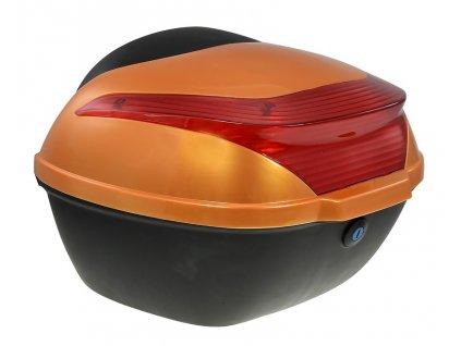 Zadní kufr k elektroskútru RACCEWAY E-BABETA, oranžový