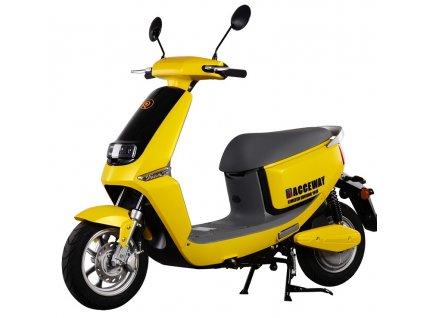 Elektroskútr RACCEWAY SMART, žlutý-lesklý