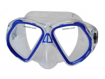 Potápěčská maska CALTER JUNIOR 4250P, modrá