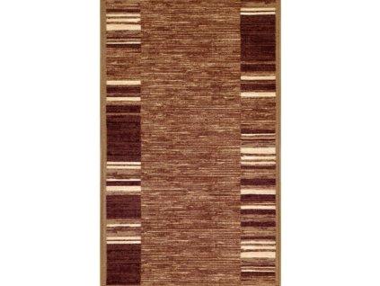 Associated Weavers koberce AKCE: 380x90 cm s obšitím Protiskluzový běhoun na míru Adagio 17 hnědý - šíře 90 cm s obšitím