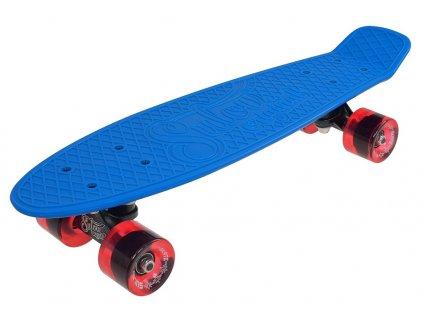 """Penny board 22"""" SULOV RETRO VENICE modro-tr.červený"""