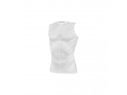 FORCE - triko/funkční prádlo F TROPIC bez rukávů,bílé