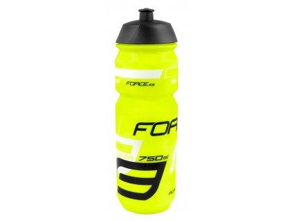 FORCE láhev SAVIOR 0,75 l, fluo-černo-bílá