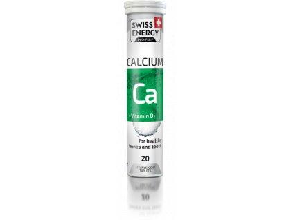 SWISS ENERGY Vápník + vitamín D3 eff.tbl.20