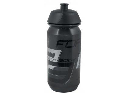 FORCE - láhev SAVIOR 0,5 l, transparentní černá-šedá