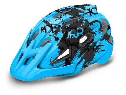 R2 - helma WHEELIE modrá/šedá