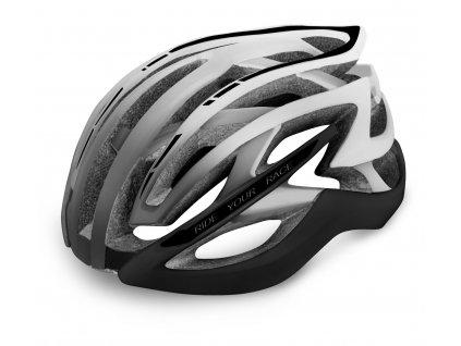 R2 - helma EVO 2.0 černá/šedá/bílá