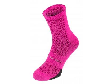 R2 - ponožky ENDURANCE růžová