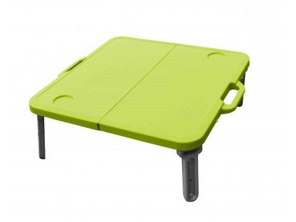 MINI skládací stolek k lehátku, zelený