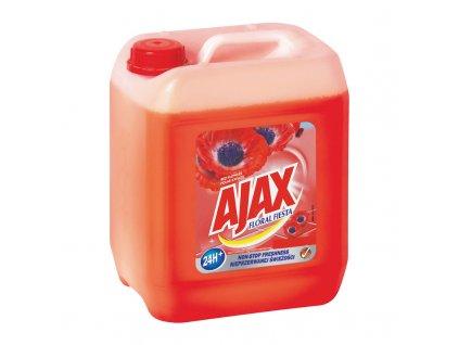 Ajax Floral Fiesta univerzální čistící prostředek s vůní vlčích máků 5 l