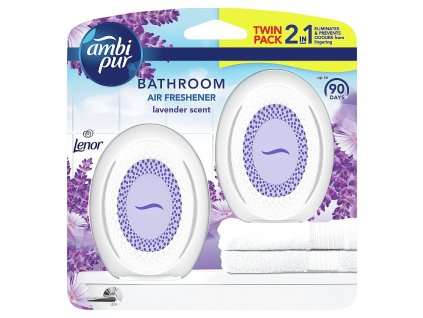 Ambi Pur Bathroom Lavender Osvěžovač Vzduchu 2 x 7,5 ml