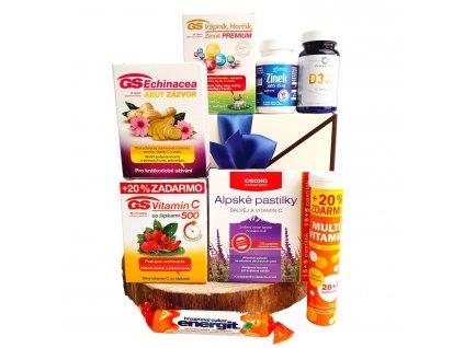 Vitamínový balíček v dárkové obálce