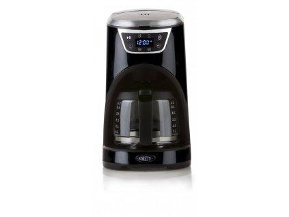 Kávovar s časovačem - černý - Boretti B410