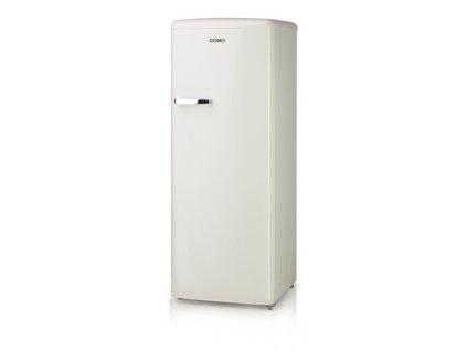 Retro lednice bez mrazáku - krémová - DOMO DO985RKC