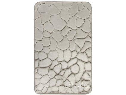 BO-MA koberce Protiskluzová koupelnová předložka 3D 133 sand - 50x80 cm