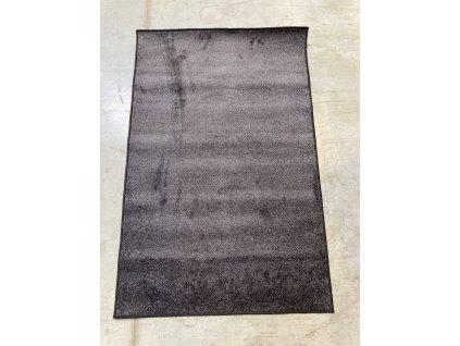 AKCE: 100x150 cm Kusový koberec Ultra Soft černá - 100x150 cm
