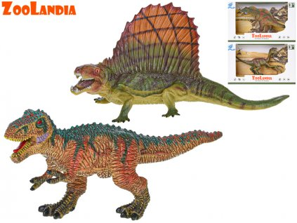 Zoolandia dinosaurus 16-19cm 4druhy v krabičce