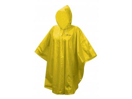 FORCE - poncho nepromokavé, žluté L - XXL