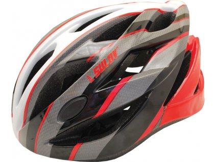 Cyklo helma SULOV RAPID, červená