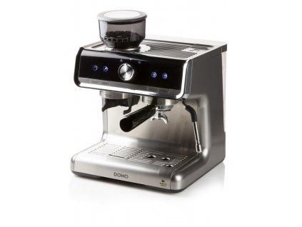 Pákový kávovar s mlýnkem na kávu - DOMO DO720K