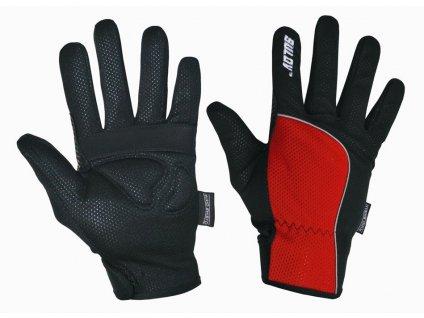 Zimní rukavice SULOV, červené