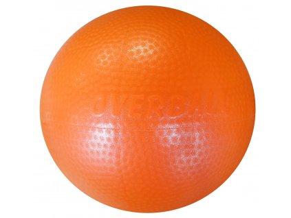 Acra ACRA Míč Overball Itálie 23 cm oranžový oranžová