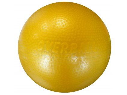 Acra ACRA Míč Overball Itálie 23 cm žlutý žlutá