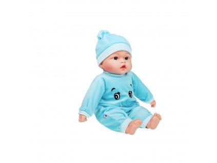 PLAYTO Česky mluvící a zpívající dětská panenka 46cm 1ks Panenka: Maruška (modrá)