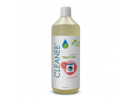 CLEANEE ECO Home prací gel s vůní grapefruitu 1L