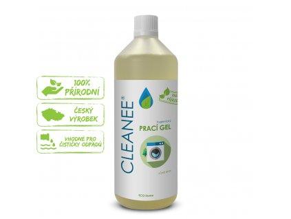 CLEANEE ECO hygienický PRACÍ GEL - vůně lesa 1l