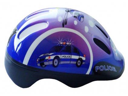 Brother CSH062 Cyklistická dětská helma velikost M (52/56 cm) modrá 2017