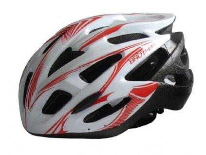 Brother ACRA CSH88XL bílá cyklistická helma velikost XL(60/62cm) 2015 velikost XL