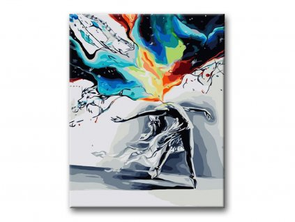 Malování podle čísel - TANEC V BOUŘI