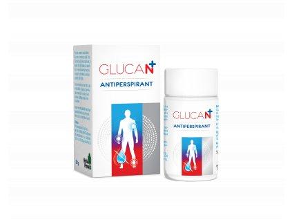 Glucan antiperspirant