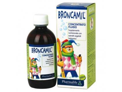 Broncamil roztok při problémech s dýcháním - 200 ml