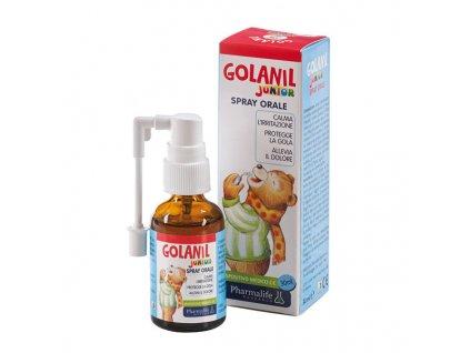 Golanil Junior sprej při bolestech v krku - 30 ml