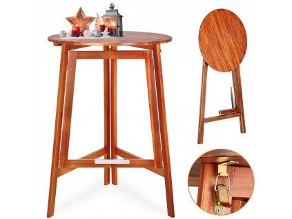 Zahradní stolek GILI, akátové dřevo