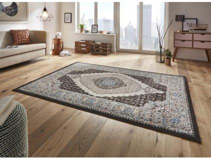 Mint Rugs - Hanse Home koberce AKCE: 200x290 cm Kusový koberec Classico 102704 schwarz grau