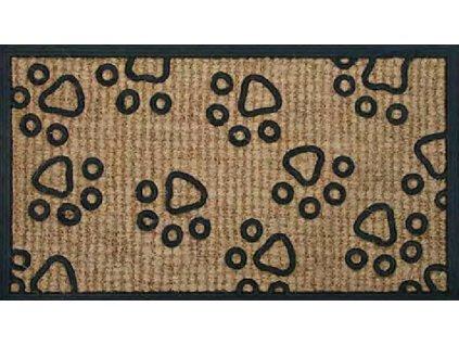 Rohožka Kokos + guma ťapky - 40x70 cm