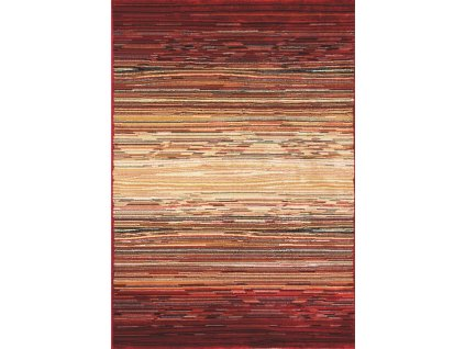 Spoltex koberce Liberec Kusový koberec Cambridge red/beige 5668 - 80x150 cm