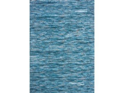 Spoltex koberce Liberec Kusový koberec Sofia blue 7871 A - 80x150 cm