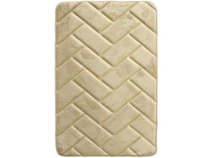 BO-MA koberce Protiskluzová koupelnová předložka 3D 7288 beige - 50x80 cm