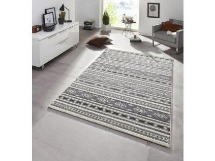 SCHÖNGEIST & PETERSEN - Hanse Home koberce Kusový koberec Diamond 102813 Grau - 80x150 cm