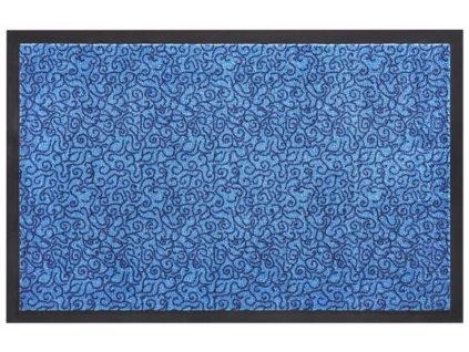 Zala Living - Hanse Home koberce Protiskluzová rohožka Smart 102669 Blau - 45x75 cm