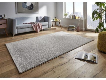 Mint Rugs - Hanse Home koberce Kusový koberec Tifany 102772 Grau - 80x150 cm