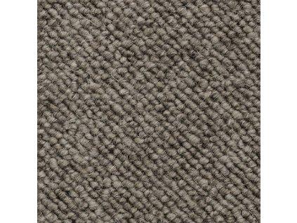 Metrážový koberec Alfawool 40 šedý - Rozměr na míru bez obšití cm