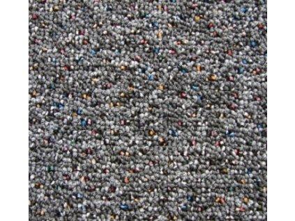 Tapibel Metrážový koberec New Melody 37450 antracit - Rozměr na míru bez obšití cm