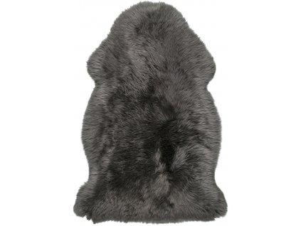 Obsession koberce Kusový koberec Premium Sheep 100 Coal - 55x85 tvar kožešiny cm